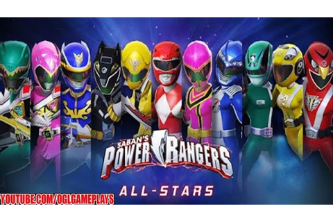 Now available, Power Rangers: All Stars RPG for iPhone and ...