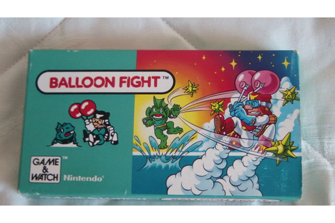 Balloon Fight Nintendo game watch. Boxed. - Catawiki