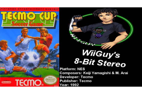 Tecmo Cup Soccer Game (NES) Soundtrack - 8BitStereo - YouTube