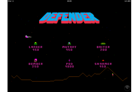 Defender! review (iPod/iPhone) | ArcadeLife : Life vs ...