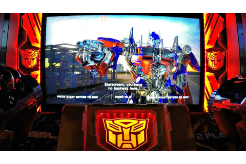 Transformers Human Alliance Arcade Game Dave & Buster's ...