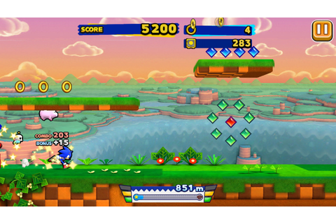 Sonic Runners: The Retro Review – Sonic Retro