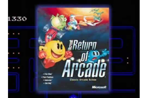 Microsoft Return of Arcade - Revenge of Arcade Official ...