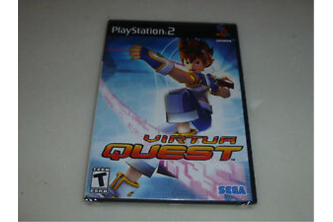 BRAND NEW FACTORY SEALED PLAYSTATION 2 GAME VIRTUA QUEST ...