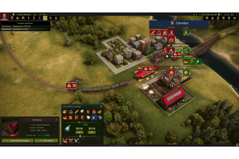 Railroad Corporation Indie Game Preview | Geeky Hobbies