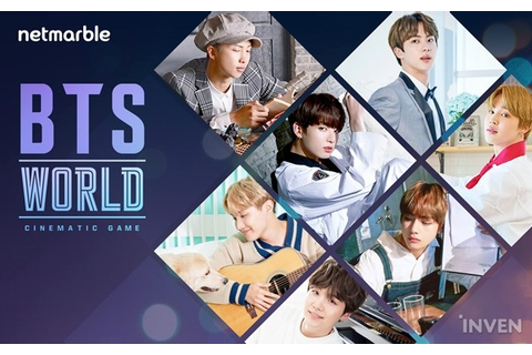 BTS WORLD, a realistic & cinematic BTS game, is coming ...