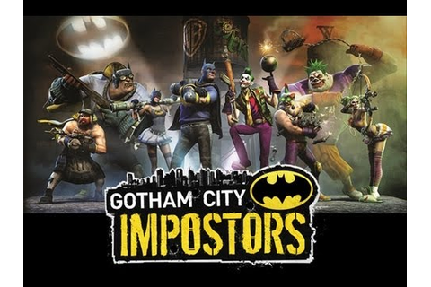 CGRundertow GOTHAM CITY IMPOSTORS for PlayStation 3 Video ...