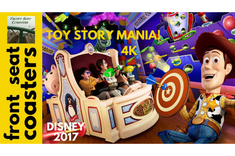 Toy Story Mania! POV 4K On-Ride 2017 Hollywood Studios ...