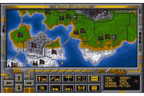 Cyber Empire (a.k.a. Steel Empire) Download (1992 Strategy ...