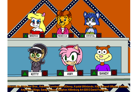 Minerva and Friends on Match Game by tpirman1982 on DeviantArt