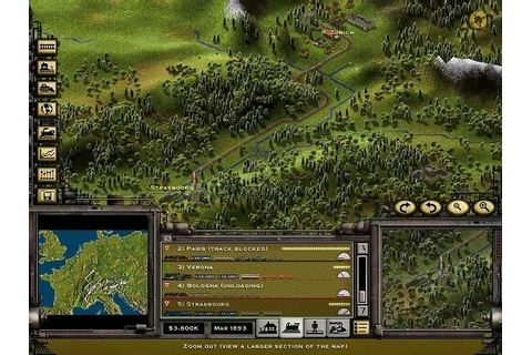 Railroad Tycoon II Review - Games Finder