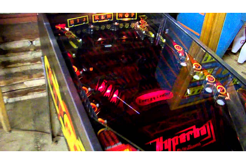 Williams Hyperball Pinball - YouTube