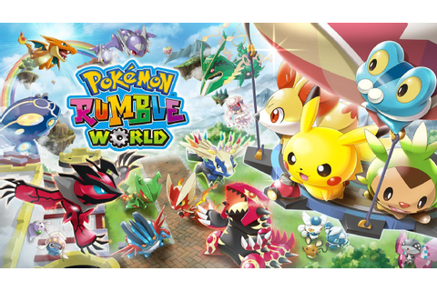 Pokémon Rumble World Available Now, as Nintendo Releases a ...