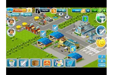 Airport City Android Game - YouTube