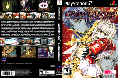 (PS2) Growlanser Generations [NTSC-U] [464MB+408MB ...