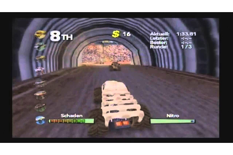 Monster trux Arenas (wii) - YouTube