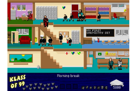 Indie Retro News: Games I remember, with a remake - Skool Daze