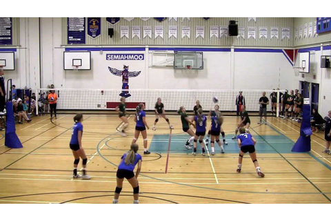 2012 BC Summer Games Indoor Girls Volleyball Finals - Zone ...