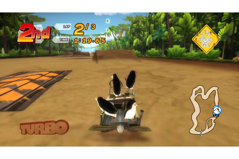 Madagascar Kartz XBOX 360 Game play - YouTube