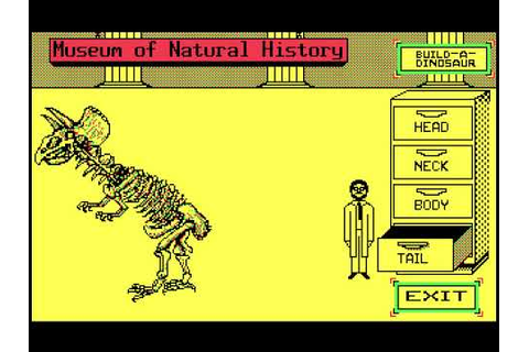 Designasaurus 1988 Game - YouTube