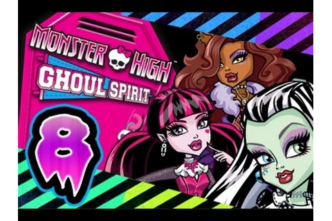 Monster High: Ghoul Spirit Walkthrough Part 8 (Wii) Full ...