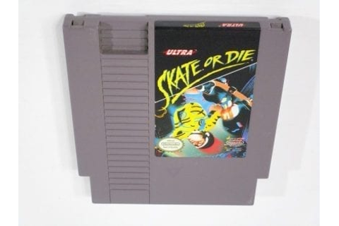 Skate or Die game for NES (Loose) | The Game Guy