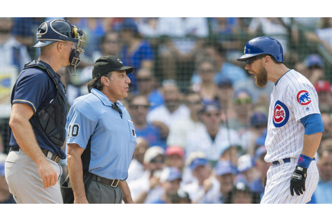 Ben Zobrist finally gets ejected from a baseball game ...
