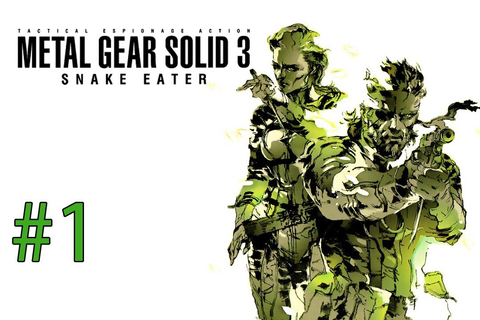 Metal Gear Solid 3: Snake Eater Part 1: GAMEPLAY - YouTube