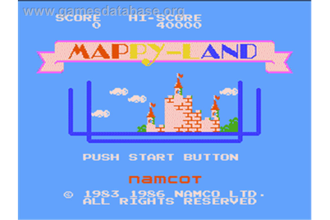 Mappy Land - Nintendo NES - Games Database