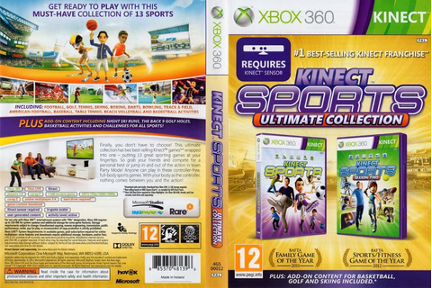 Game - Xbox 360 Kinect Sports Ultimate Collection Original ...