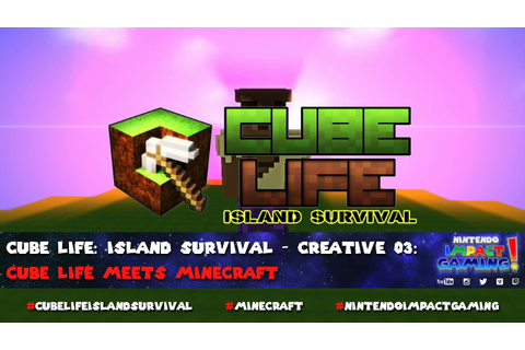 Cube Life: Island Survival meets Minecraft - YouTube