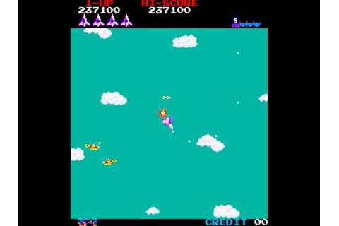 Arcade Game: Time Pilot (1982 Konami) - YouTube