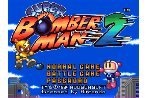 Super Bomberman 2 Download Game | GameFabrique