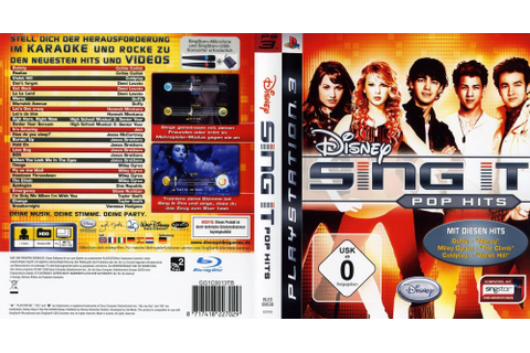 BLES00638 - Disney Sing It: Pop Hits