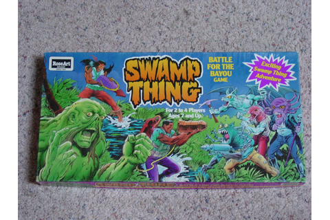 Swamp Thing Battle of the Bayou game by Rose by ...