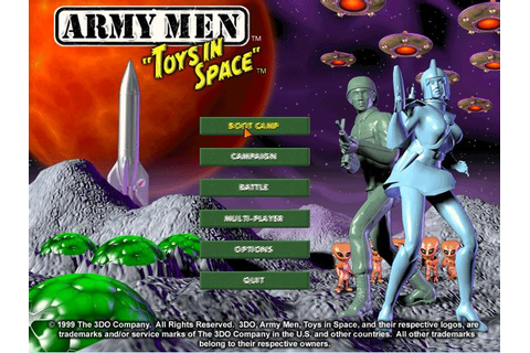 Army Men: Toys in Space Download (1999 Strategy Game)