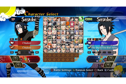 Naruto Shippuden: Ultimate Ninja Storm Generations - All ...
