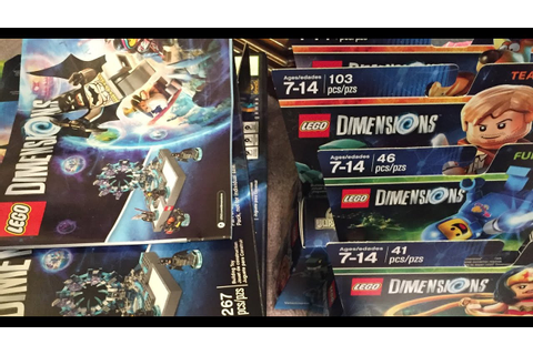 LEGO Dimensions Video Game Haul Xbox 360 - YouTube