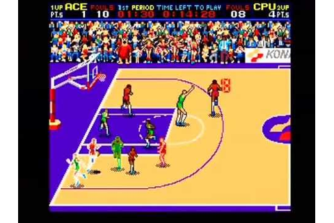 Double Dribble: Konami Classic Basketball Arcade Part 1 ...