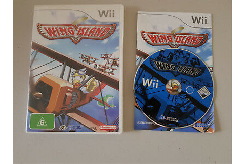 Nintendo Wii Wing Island Game Complete Disc Manual | eBay
