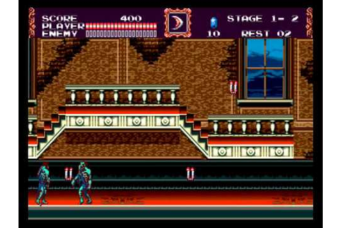 Sega Mega Drive: Castlevania: The New Generation - YouTube