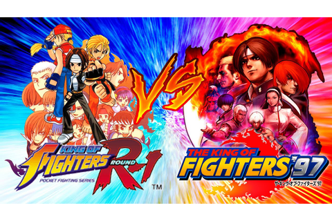 Comparativa - The King of Fighters R-1 vs The King of ...