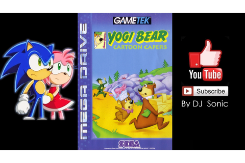 Yogi Bear: Cartoon Capers - Score 2'443'390 - (Genesis ...