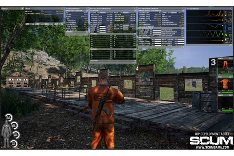 SCUM - The Croatian-Made Prison Survival Game with Big Plans