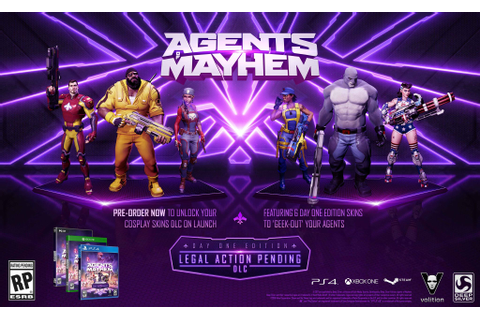 Agents of Mayhem Pre-Order Bonuses | Game Preorders