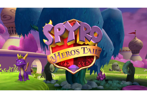 Spyro: A Hero's Tail - Title Screen - YouTube