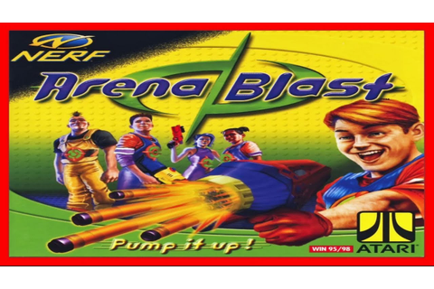 Nerf Arena Blast 1999 PC - YouTube