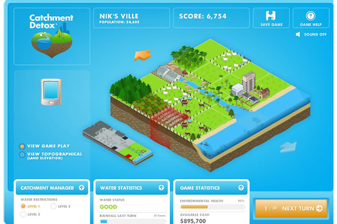 Blog Action Day: Serious Games For Water Conservation