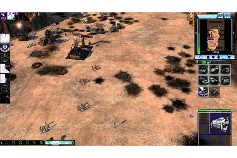 command and conquer 3 tiberium wars fallout mod - YouTube
