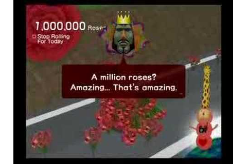 We Love Katamari - - The Millionth Rose - YouTube
